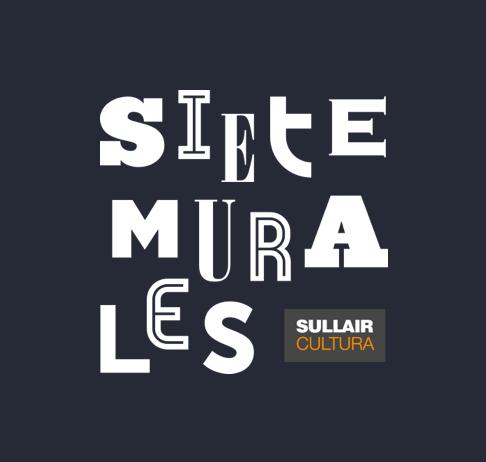 Siete Murales Logo